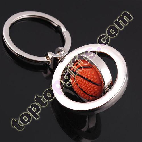 revolving basketball keyring custom metal keychains  b2442316b4
