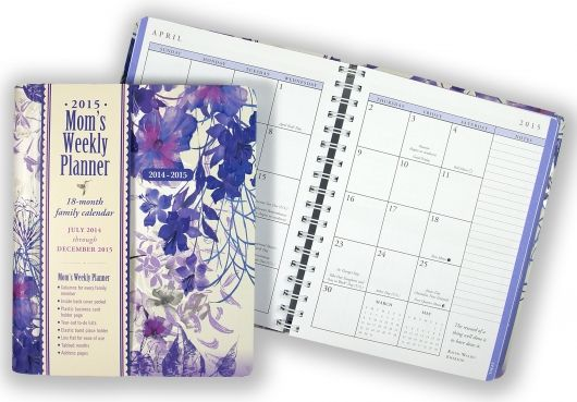 MomS Weekly Planners Mom Family Calendars  Agenda  Notebook