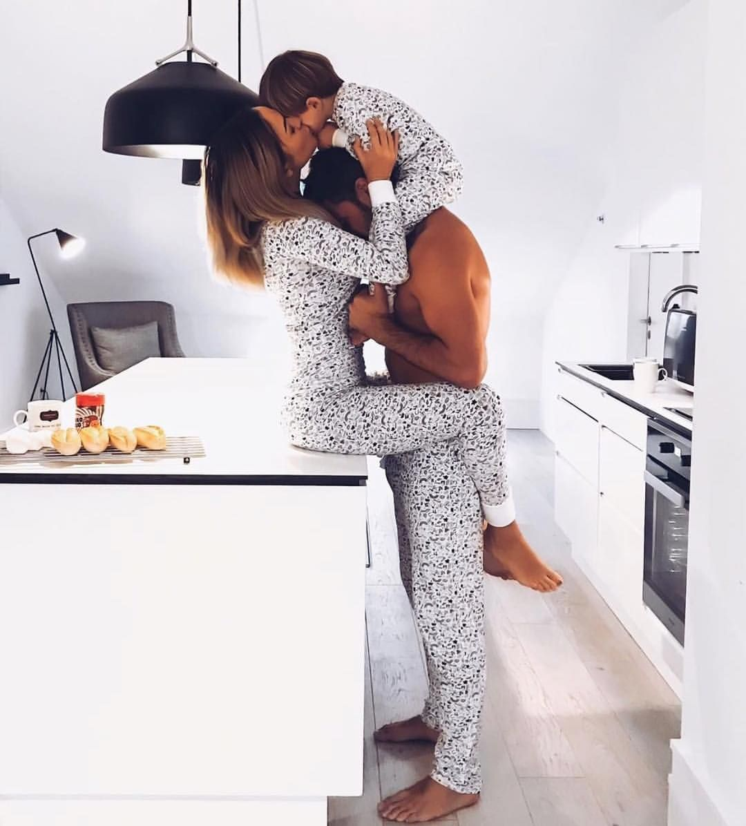 "Couple Goals on Instagram: ""Sunday mornings 😍 @monica.nyhus @chris_nyhus 😘"""