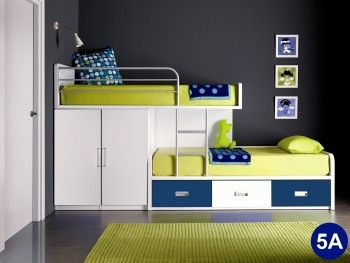 I Finally Found The Source For A Bunk Bed I Pinned The Other Day Of Course It Is From The Uk I Small Kids Room Space Saving Bunk Bed Beds