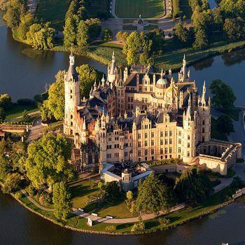 Schwerin Castle Germany 144 Pieces Schwerin Beruhmte Schlosser Schweriner See