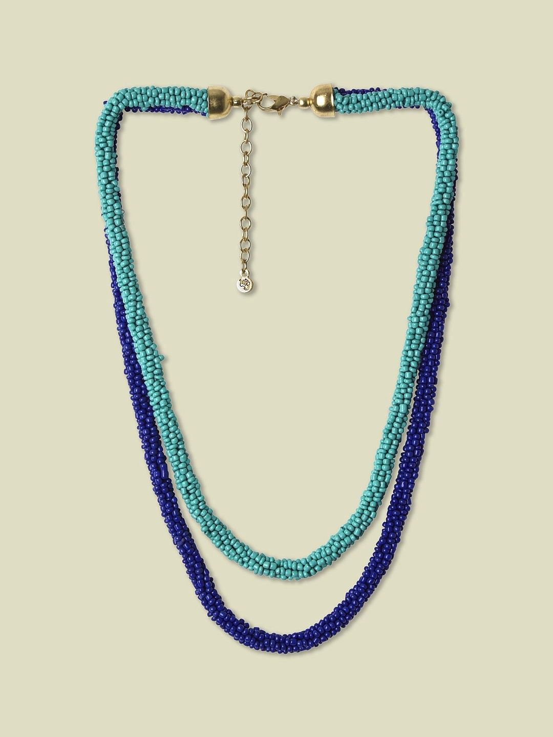 SHORT SEED BEAD NECKLACE