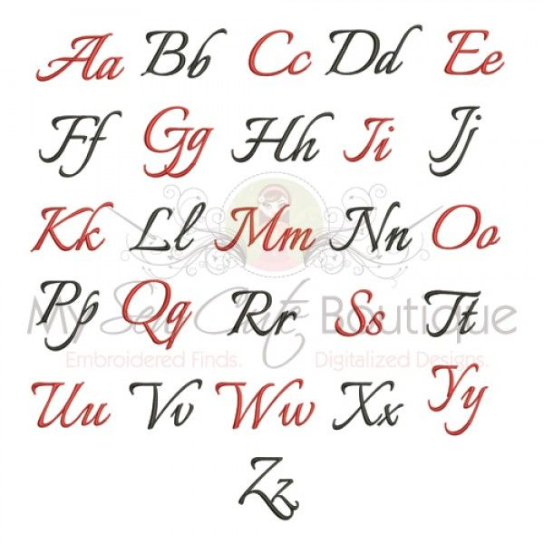 Embroidery Machines Font And Designs Letters G