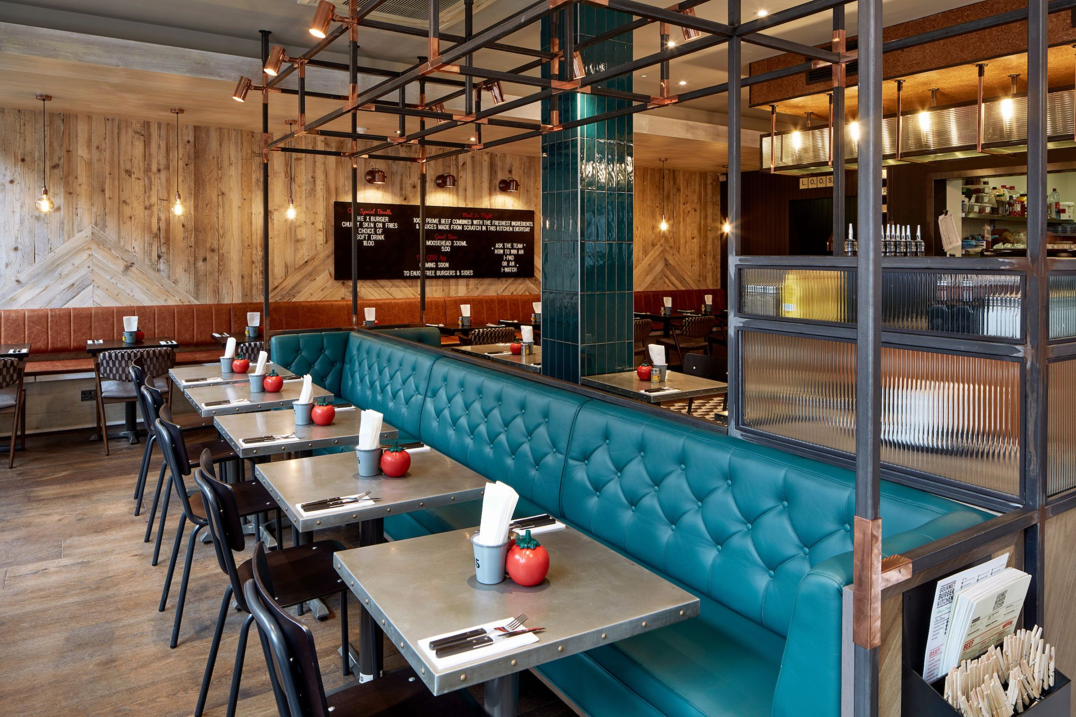 Bespoke Restaurant Seating GBK Dublin Temple Bar