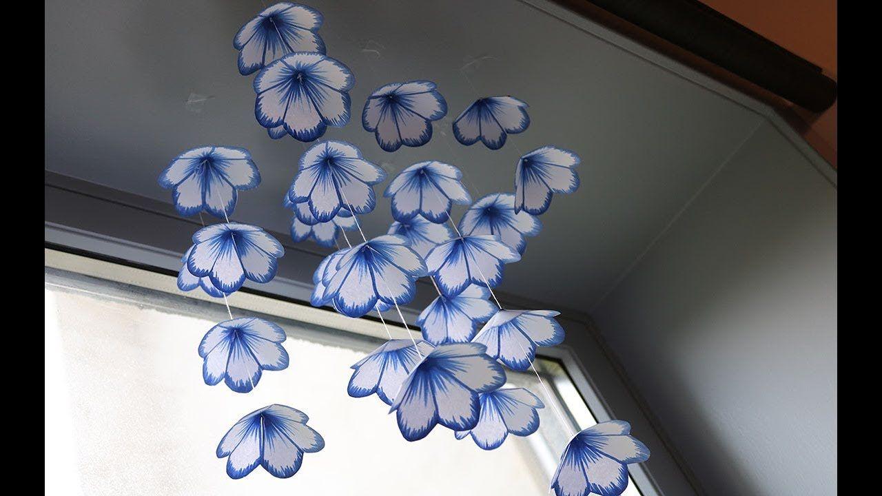 Diy Simple Home Decor Hanging Flowers 2 Handmade Decoration