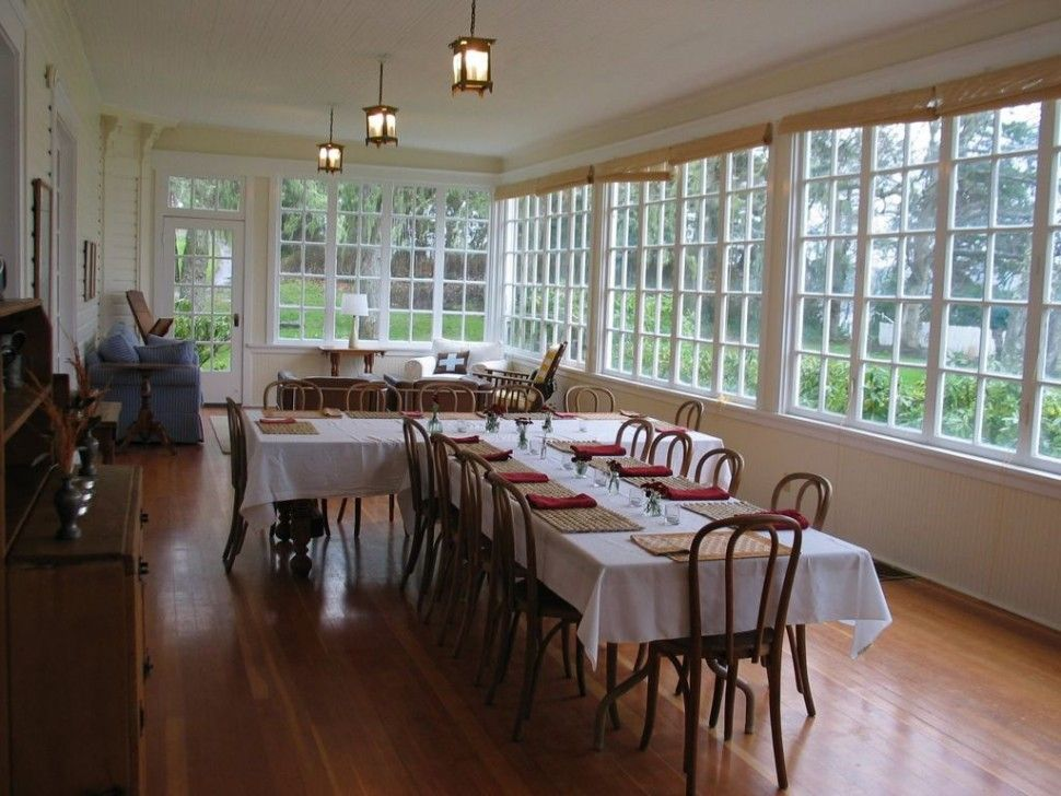 Sunroom Dining Room Ideas Dining Roominspired Sunroom Dining Room Decoration With Long T