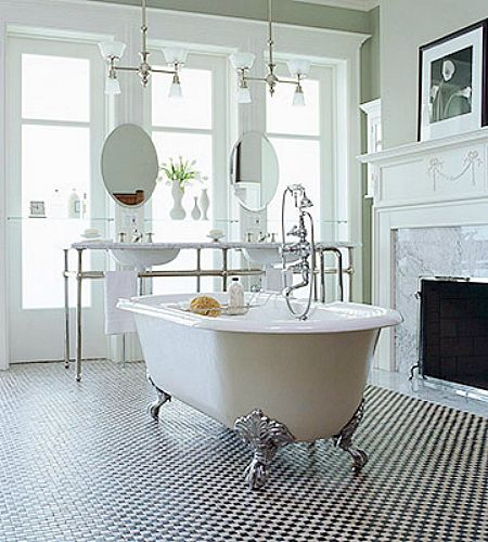 Pin By Szilvia Bugner On Awesome Bathrooms Modern Bathroom Decor Chic Bathroom Decor Victorian Style Bathroom