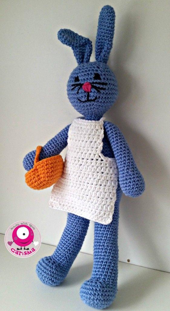 Osterhase Häkeln Häkeln Stricken Pinterest Crochet