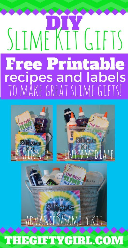 SLIME-O-RAMA! Three of the best DIY Slime Kits for gifts | Slime ...