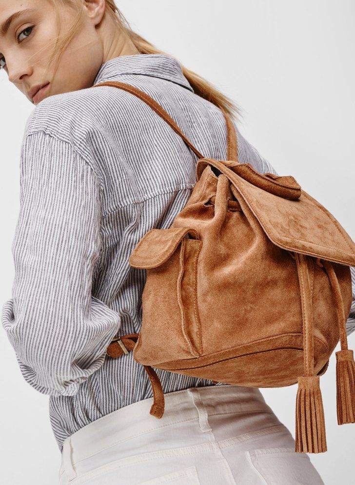 Pin for Later: The Childhood Piece You Need to Start Wearing Again  Aritzia Linda Backpack ($275)