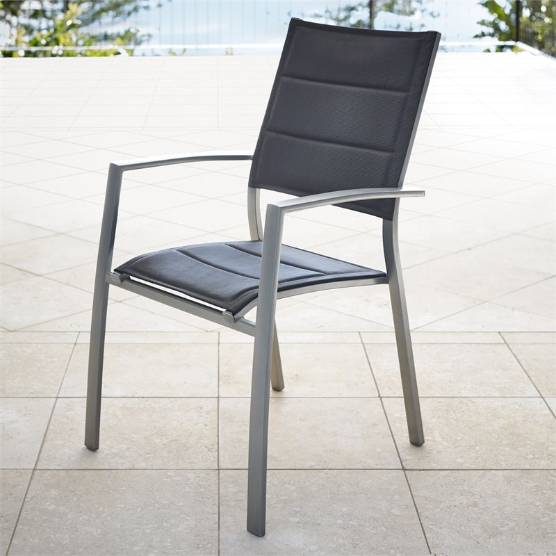 Mimosa Ancona Padded Sling Chair Sling Chair Ancona Outdoor Chairs