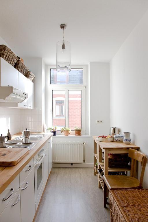Kleine aber feine Küche | Kleine Küchen ♡ Wohnklamotte ...