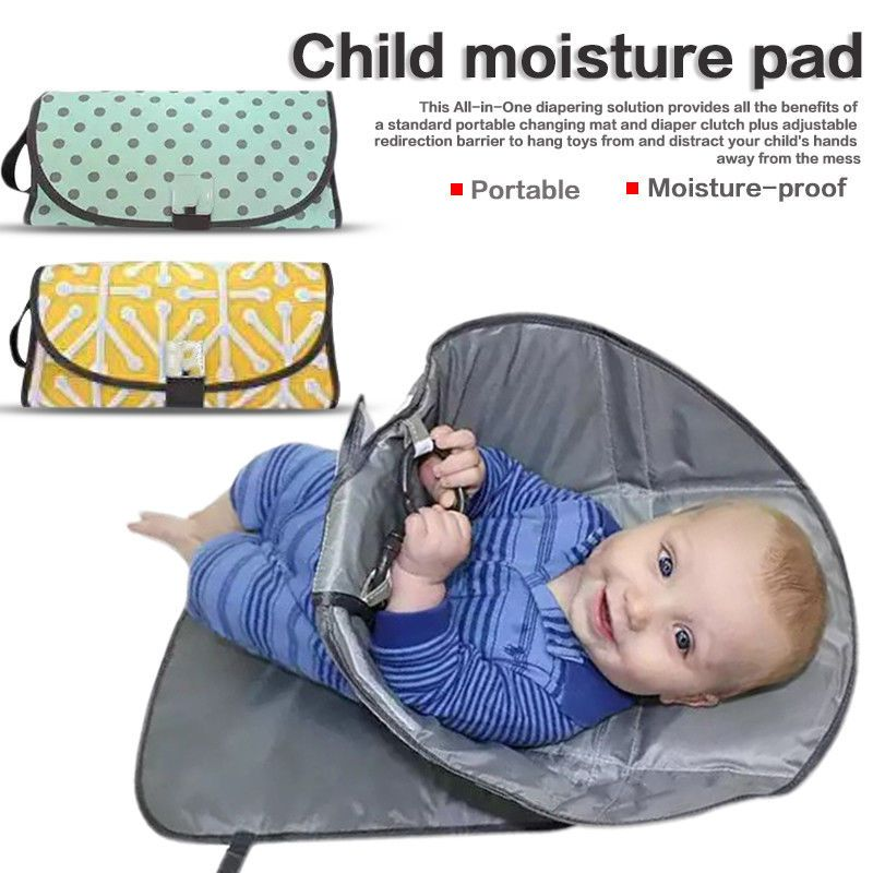 8 79 Portable Baby Infant Nappy Diaper Changing Clutch Mat Travel Camp Foldable Pad Ebay Home Garden