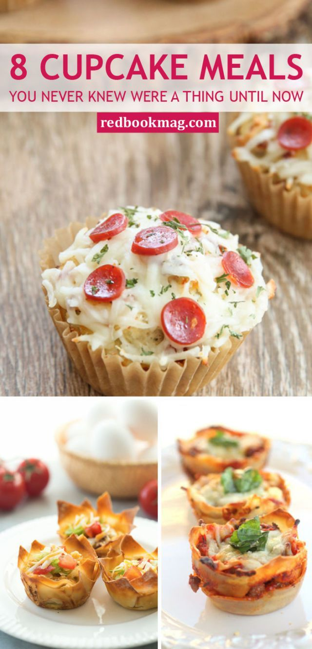 8 Cupcake Meals You Never Knew Were A Thing Until Now