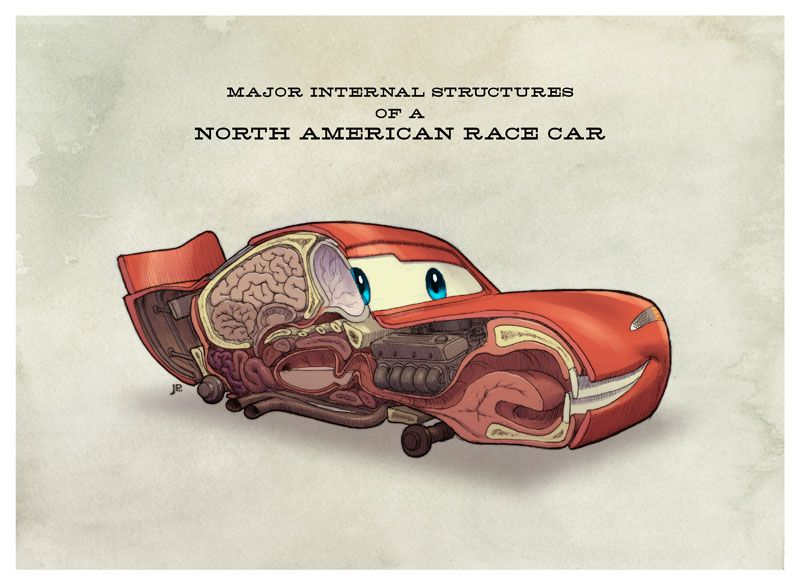 Race Car Anatomy By Jakeparker On Deviantart With Images Cars