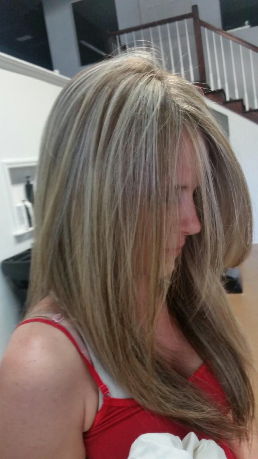 Full Highlights 29 For Shampoo Haircut And Style 60 Value 98