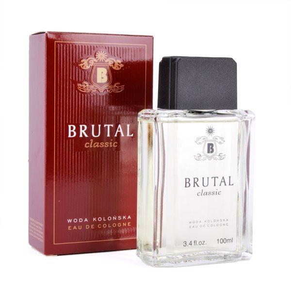Brutala można rozpoznać po opakowaniu z charakterystycznym B w herbie. Korzenno-ziołowy zapach wody kolońskiej dla dojrzałego mężczyzny w czasach PRL-u.Brutala kupowało się od zaprzyjaźnionej sprzedawczyni wprost spod przysłowiowej lady…