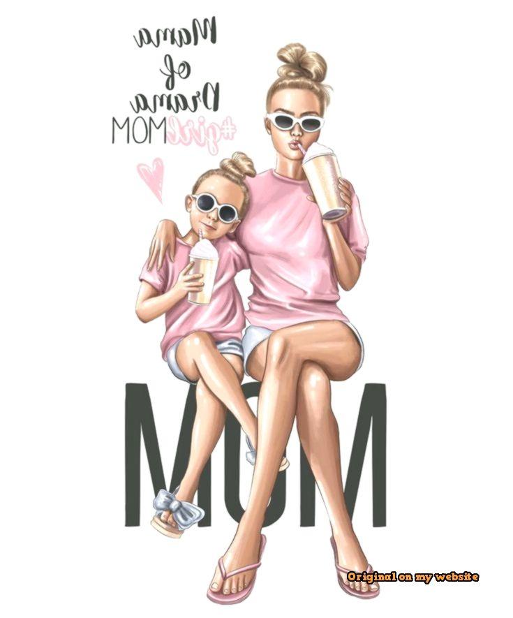 Art Sketches Ideas - Mama of drama #girlmom #girlmomlife Чехол или обложку для па...  #artsketchessimple #kunstskizzenanfertigen #KunstskizzenBleistift #KunstskizzentiefeLiebe #skizzenheftkunst