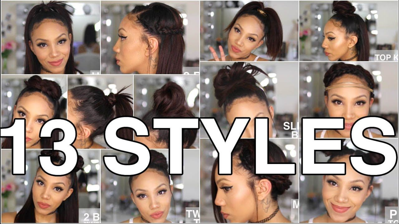 13 Styles For Straight Natural Hair Youtube Natural Hair Styles Straight Hairstyles Natural Straight Hair