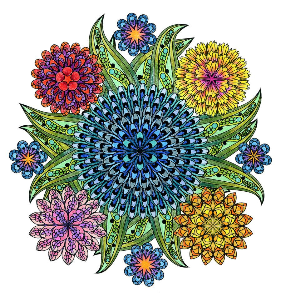 (14) Одноклассники | Mandala coloring pages, Mandala ...