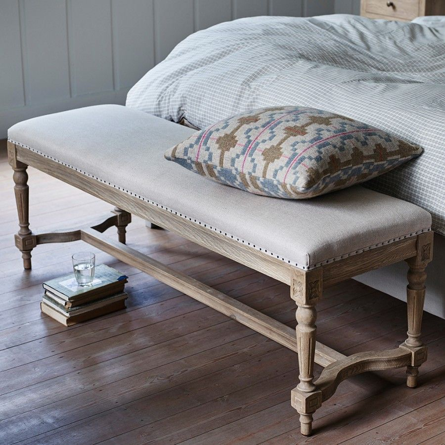 Latham Linen Bench (With images) Linen bench, Country