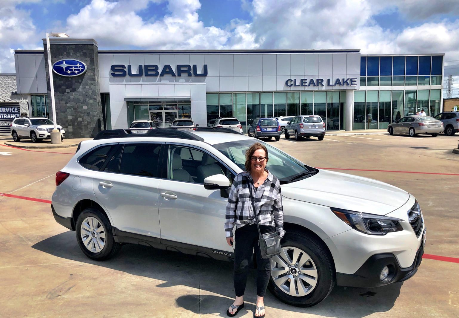 Congrats On Experiencing The Teamgillmanadvantage At Subaru Of Clear Lake We Hope You Love Your New 2019 Subaru Outback Subaru Outback Clear Lake Outback