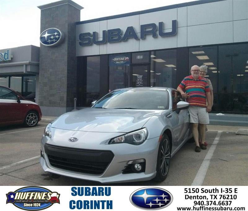 https://flic.kr/p/LMKHxf | #HappyAnniversary to Roy and your 2015 #Subaru #Brz from Everyone at Huffines Subaru Corinth! | www.deliverymaxx.com/DealerReviews.aspx?DealerCode=XDJB