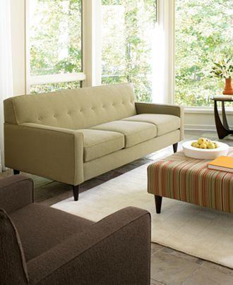 Macy S Corona Sofa Post Modern Tufted 699