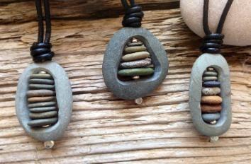 Photo of Cape Cod beach stone jewelry by KEM Designs – #Cape #Cod #designs #KEM #strandsteinschmuck # …