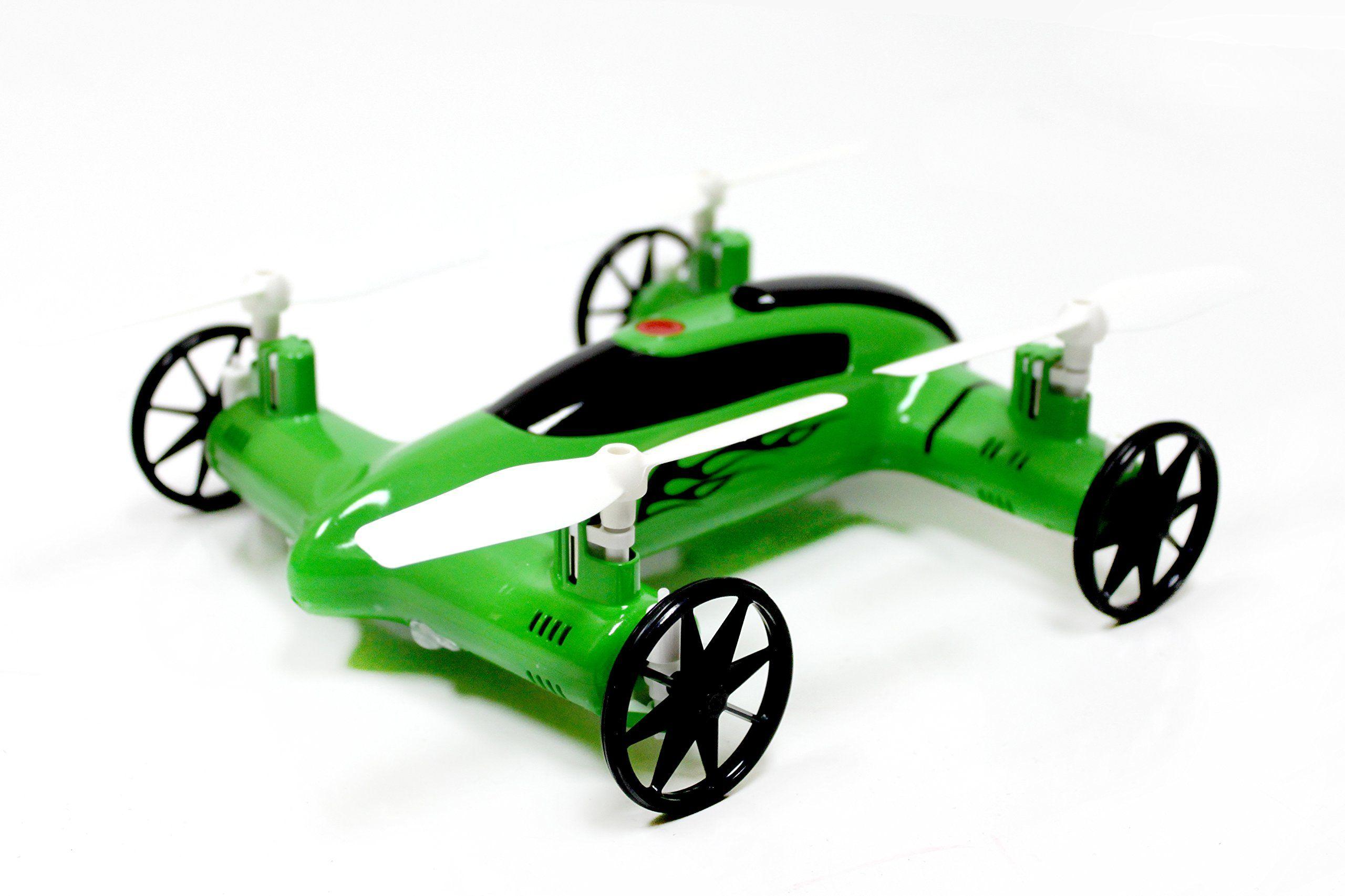 Syma X9 Flying Quadcopter Car Remote Control Car and