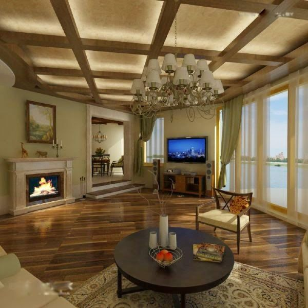 Beautiful Basement Ceiling Designs