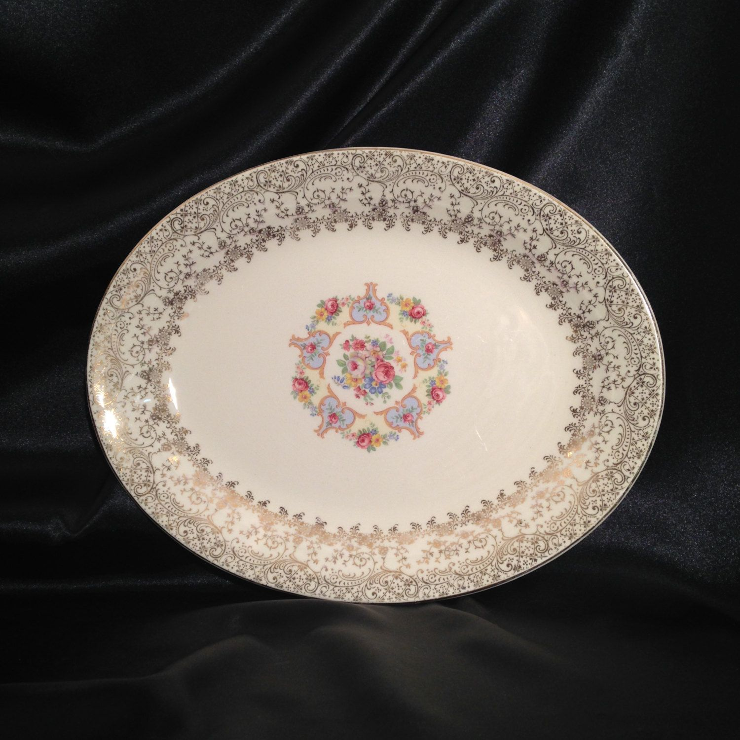 Rose Pattern China Interesting Design