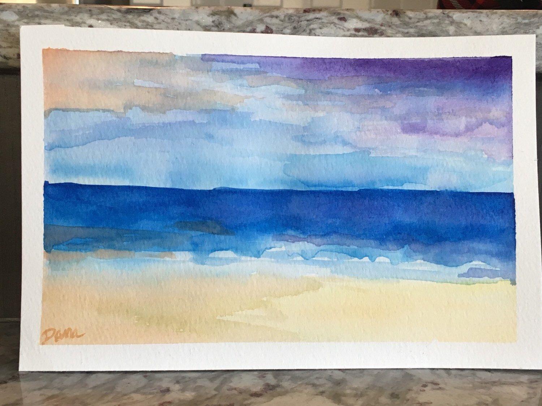 Beach Day by DanaWagnerStudio on Etsy https://www.etsy.com/listing/268713154/beach-day