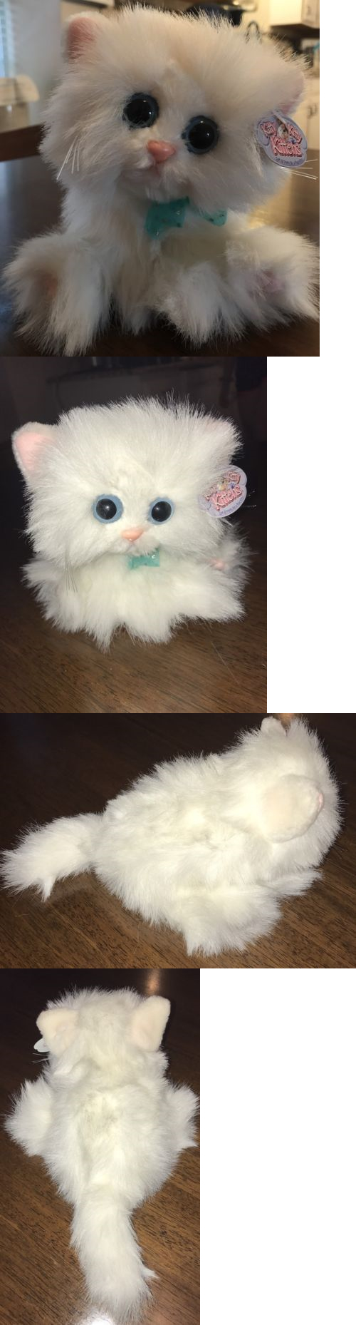 Other Stuffed Animals 230 Nwt 2000 Kitty Kitty Kittens Snowball