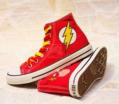 "Flash shoes xD make me want to be like sponge bob if I get them ""wanna see me run over there?... Wanna see me run again?"" ;D"