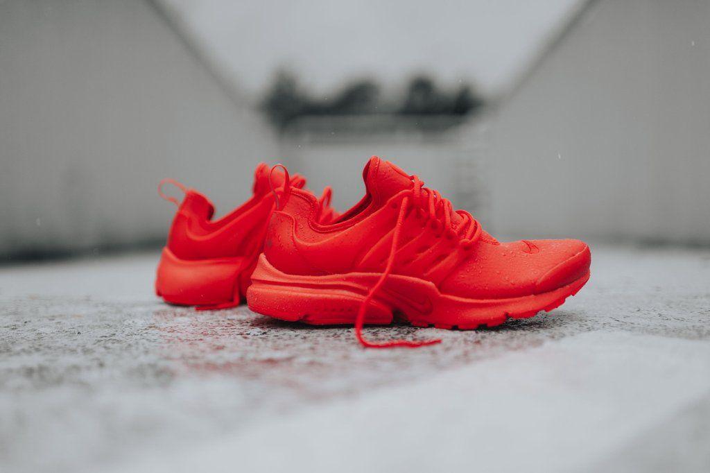 Nike Womens Air Presto PRM Max Orange