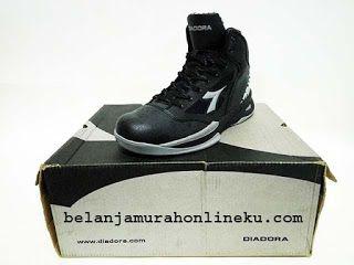 Sepatu Basket Diadora Pivot Warna Hitam Belanja Murah Online
