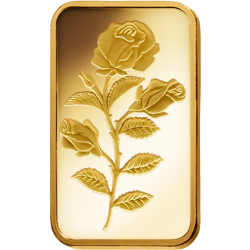 Rosa 1 2 Ounce Gold Bar Buy Gold And Silver Silver Bars Maple Leaf Gold