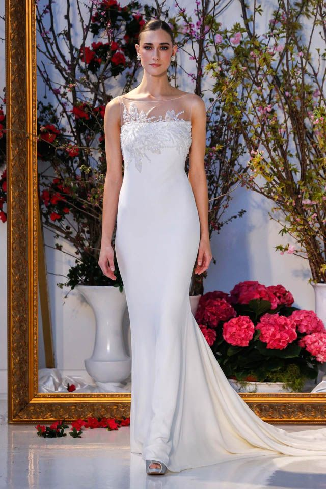 Fashion Friday: Anne Barge Bridal S/S 2017 | Spring | V-Neck | Mermaid | Sheath | Princess | Lace | Satin | Embellishments | Beading |  http://brideandbreakfast.hk/2016/06/17/anne-barge-bridal-ss-2017/
