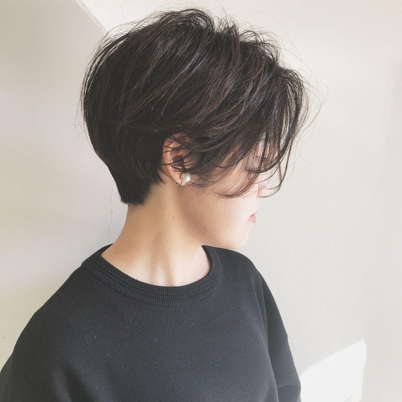 黒髪ショートで垢抜けヘアに!ストレートやパーマなど黒髪ショートスタイルを紹介【HAIR】