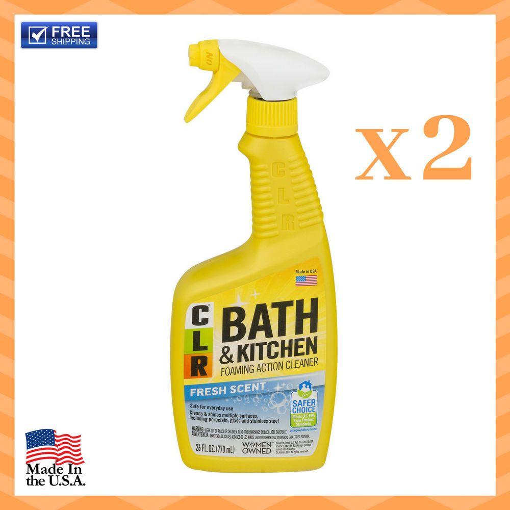 Details About New Clr Bath Kitchen Multi Surface Cleaner