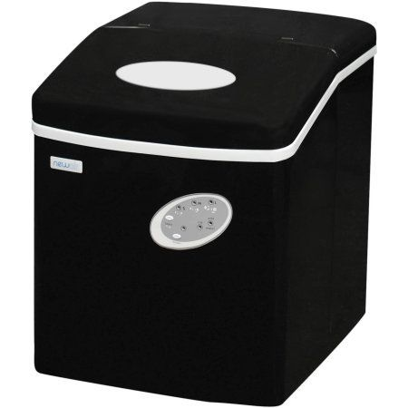 Convenient Portable Ai 100bk Ice Maker Black Countertops Bars