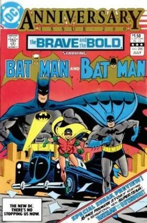 Brave And The Bold Vol 1 200 Brave The Bold Vintage Comic