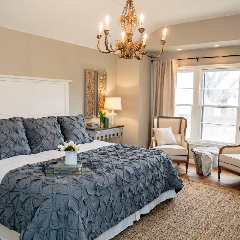 65 Cozy Rustic Bedroom Design Ideas: 25 Fixer Upper Rustic Country Bedroom Decor Ideas
