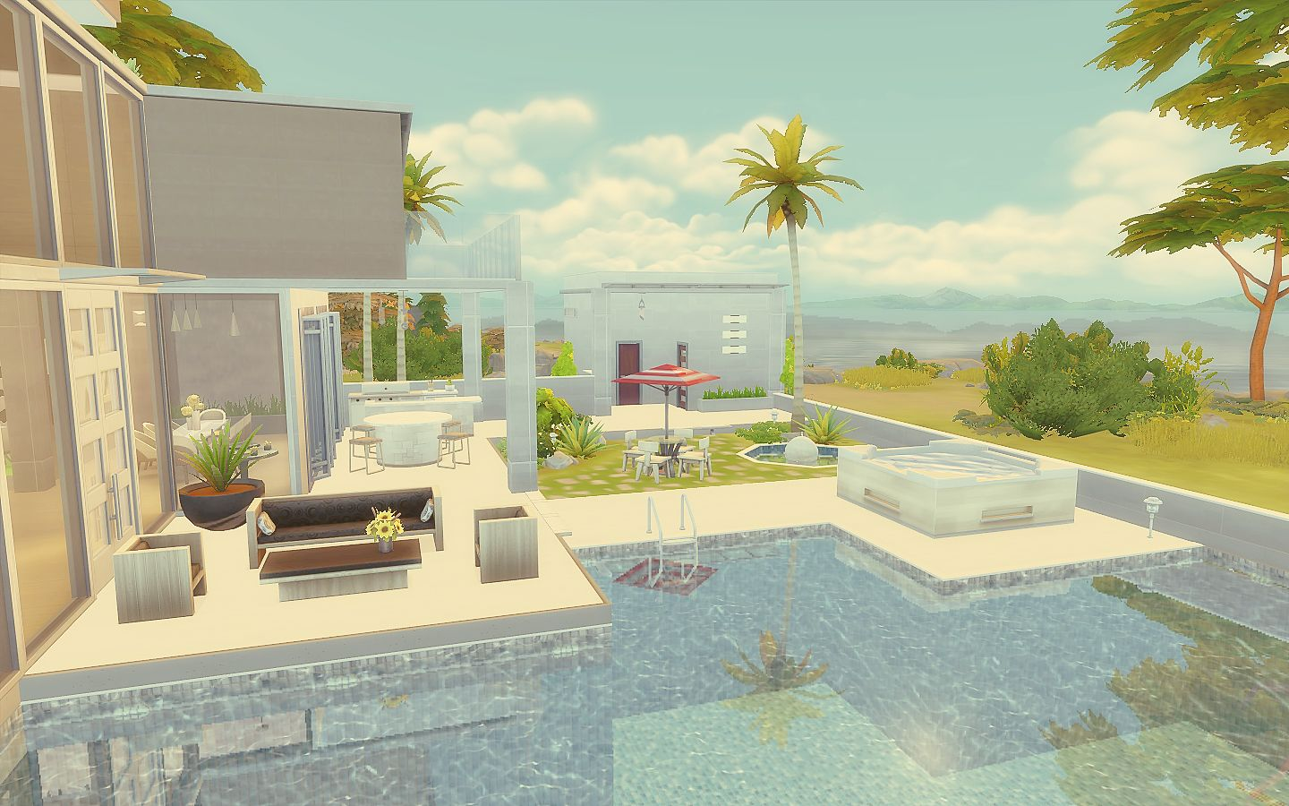 Modern House The Sims 4 Download The Sims Pinterest Sims