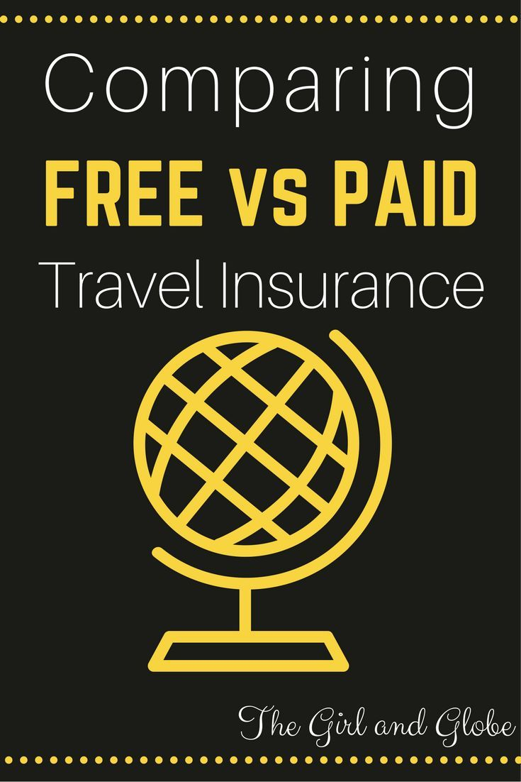 Comparing Free Versus Paid Travel Insurance Cheap Travel Insurance Travel Insurance Reviews Travel Insurance
