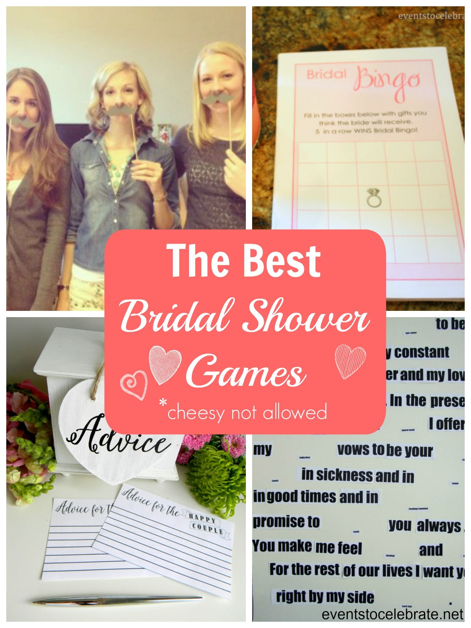 Bridal Shower Games That Are Not Lame Inexpensive Easy With FREE Printables