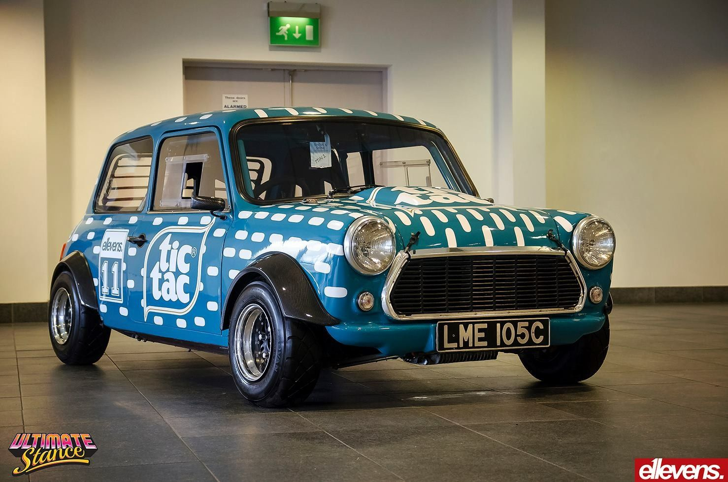 Mini track racing car  Livery by E11evens | Car wrap and