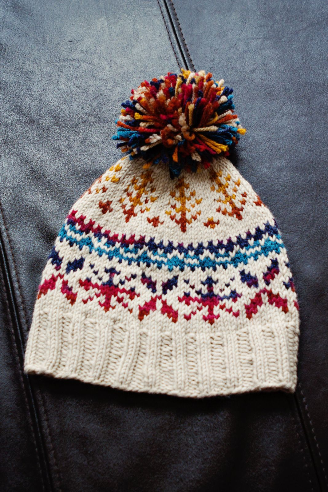Knitting Adventures … A Couple Hats … | Patterns, Fair isles and ...