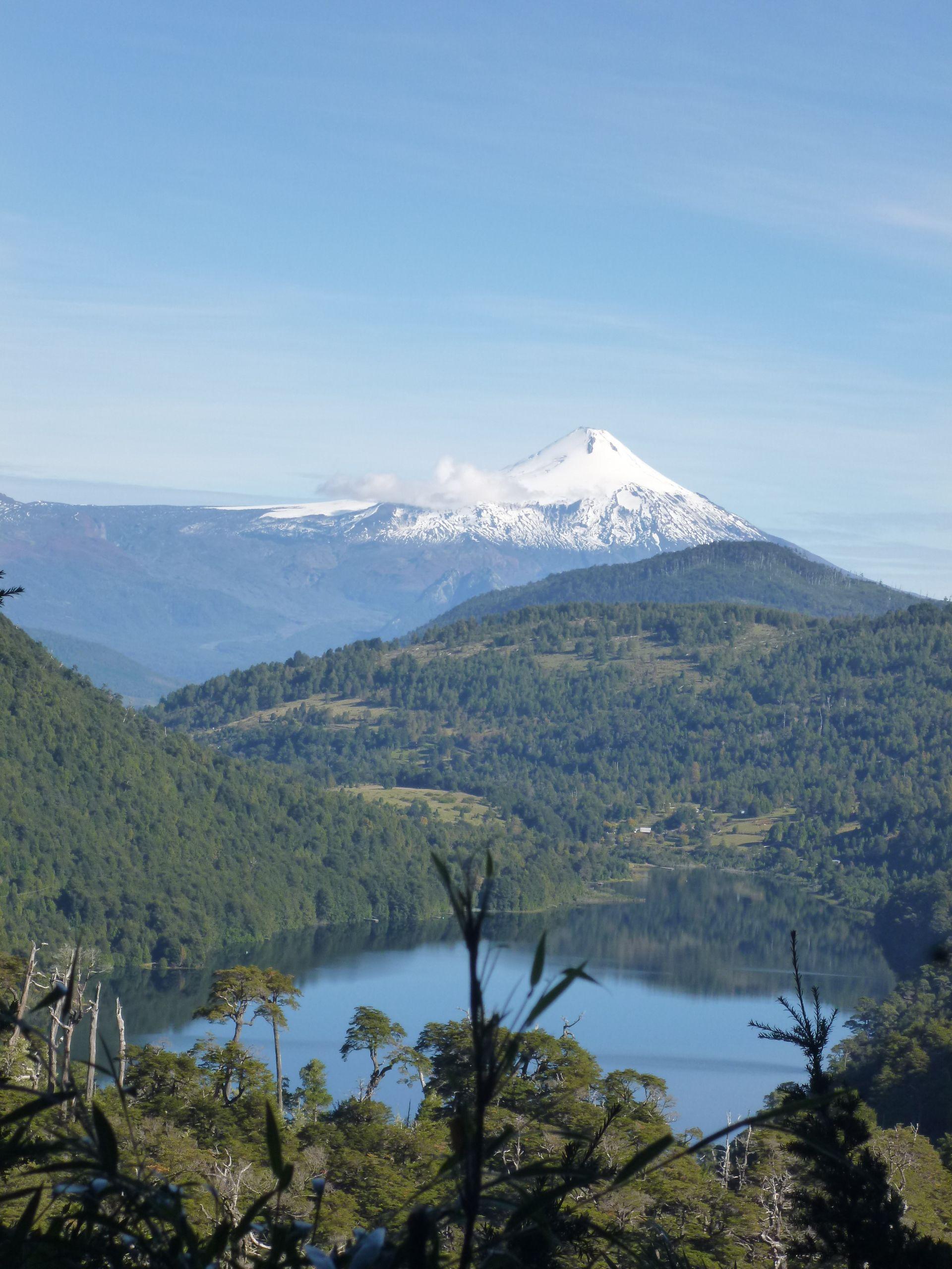 Parque Nacional Huelquehue, Chile.